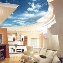 Как и чем мыть натяжной потолок?