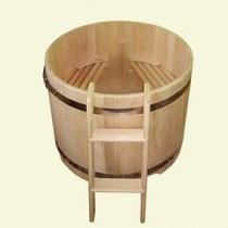 Деревянные купели для бани и сауны