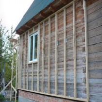 Готовимся к зиме — утепляем деревянный дом снаружи