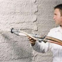 Особенности машинной штукатурки стен