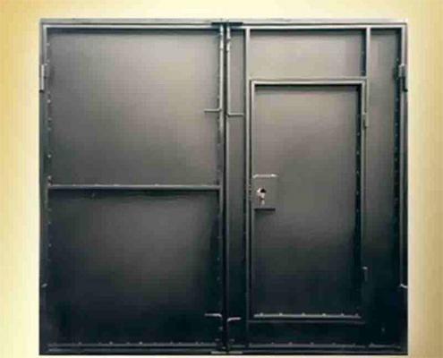 Классические гаражные ворота