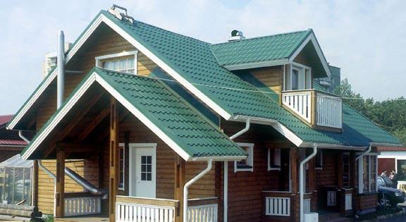Готовая крыша