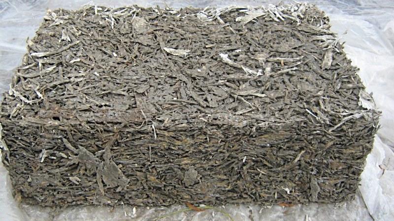 Опилки и цемент