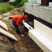 Защита от влаги устройством дренажа для фундамента