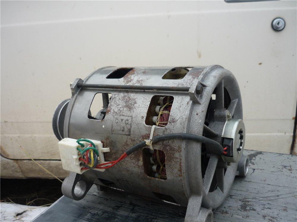 Двигатель для бетономешалки