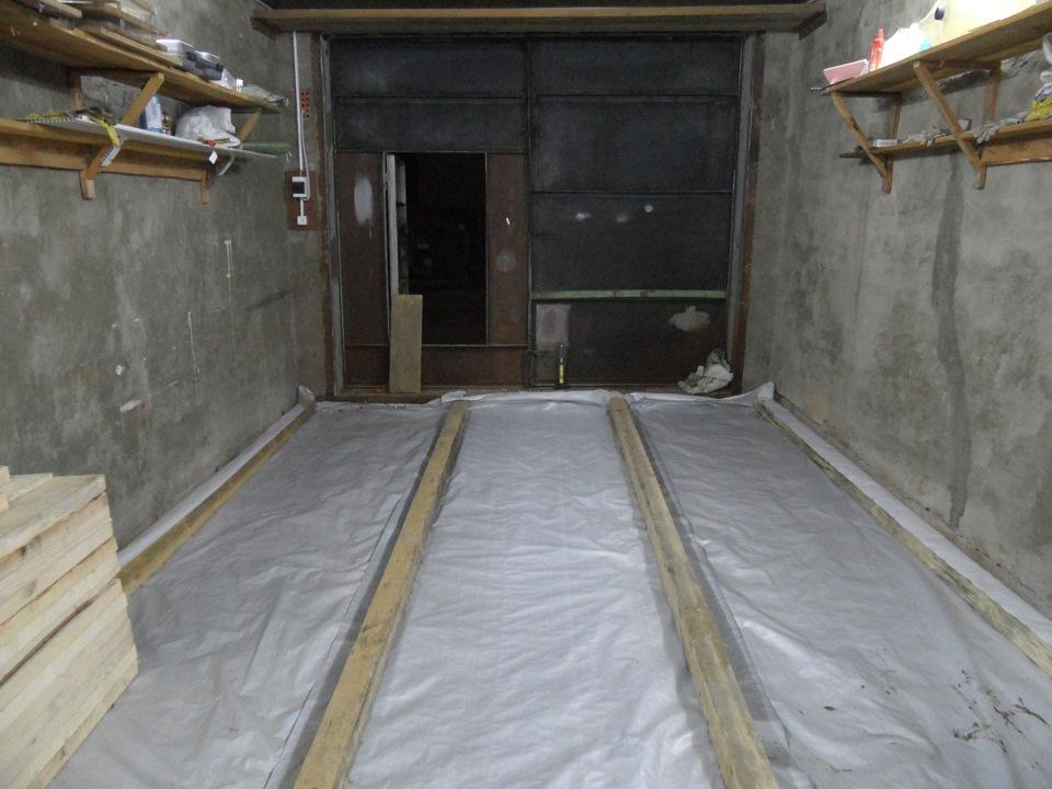 Гидроизоляция в гараже