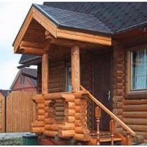 Стили крыльца деревянного дома