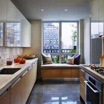 Устройство кухни на балконе