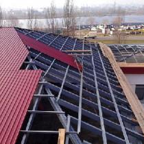 Кроем крышу металлопрофилем своими руками