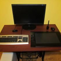 Сборка компьютерного стола своими руками