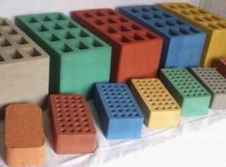 Окрашенные блоки