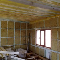 Утепление стен изнутри в квартире и частном доме