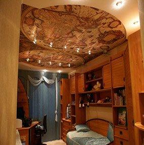 Плюсы и минусы тканевых натяжных потолков
