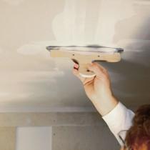 Шпаклюем потолок из гипсокартона под покраску