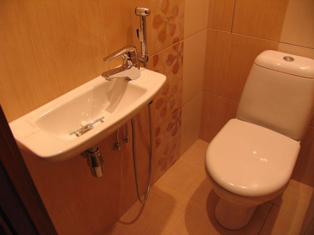 Совмещенный гигиенический душ