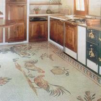 Выбор и укладка линолеума на кухню