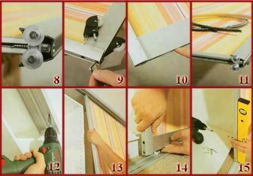 Как своими руками сделать шкаф купе из