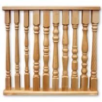 Разновидности и крепление балясин для лестниц