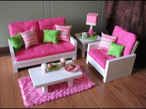 Изготовление мебели для кукол