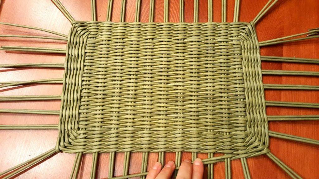 квадратное плетение