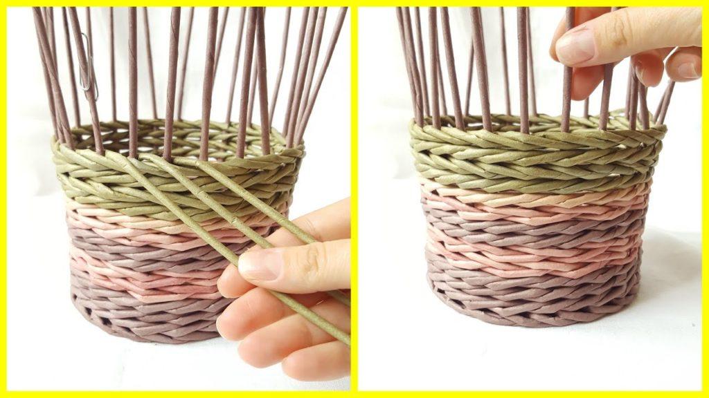 плетение веревочкой