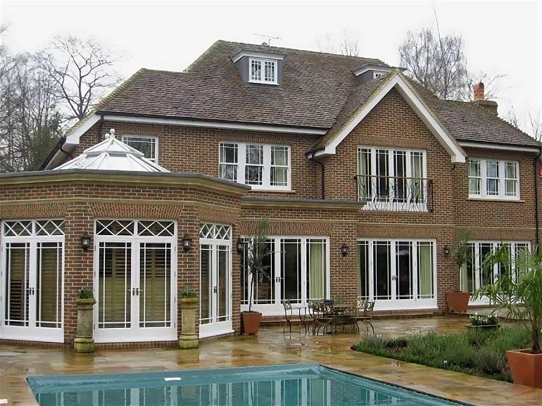 Размеры окон для частного дома