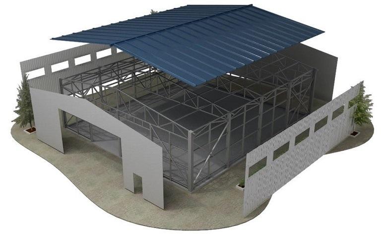 Возведение сооружений из металлоконструкций или как за 2-3 месяца построить коммерческий объект и сэкономить