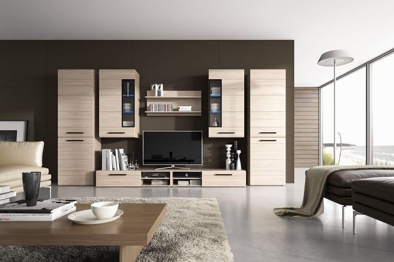 Модульные стенки для гостиной – как выбрать?
