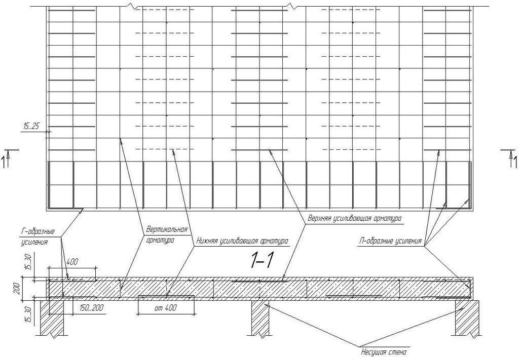 Многопустотная плита перекрытия чертежи размеры жби колец таблица