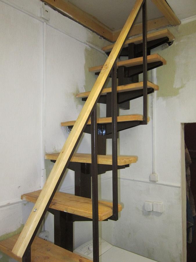 Как сделать лестницу на чердак видео