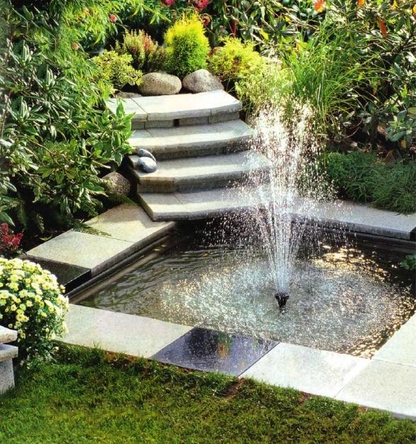 Как просто сделать фонтан на даче своими руками