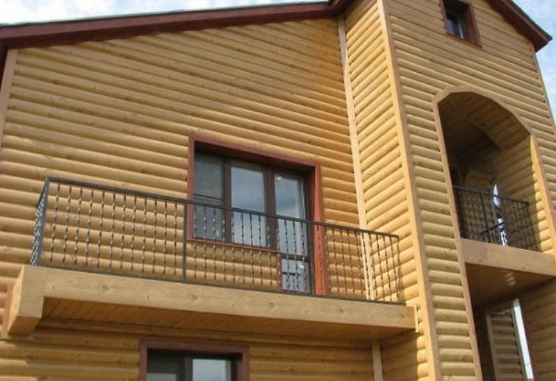 Виды фасадов домов после утепления