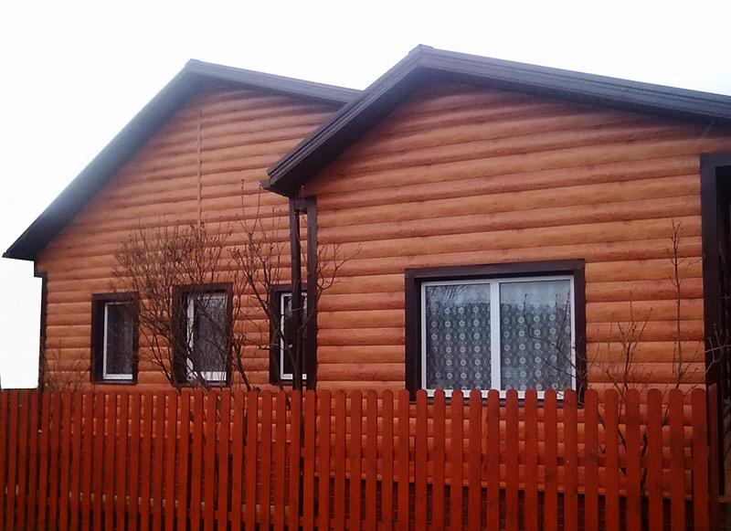 Утепление пенопластом и отделка фасада