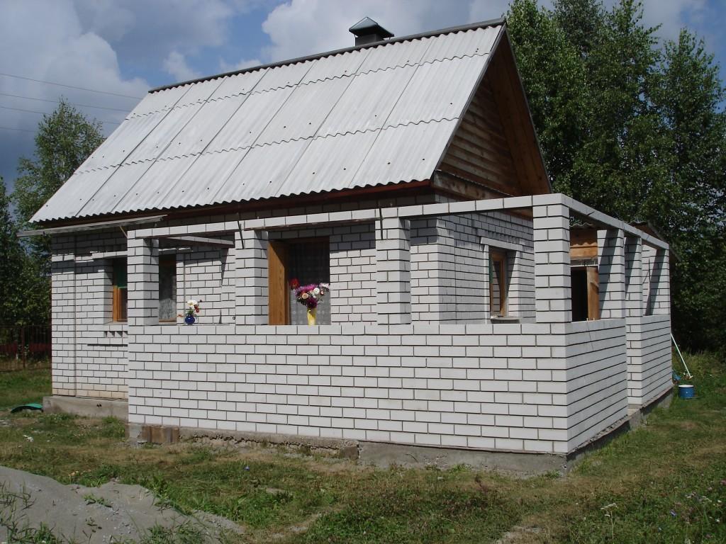 Построить дом пеноблок своими руками фото 681