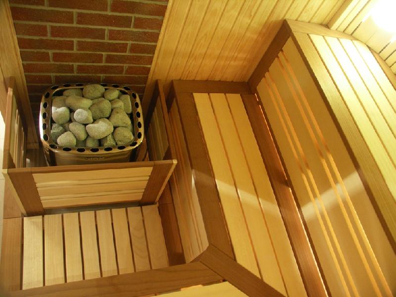 Сауны в деревянном доме своими руками 425