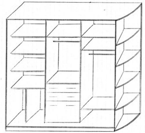 Как сделать своими руками шкаф купе чертежи и схемы