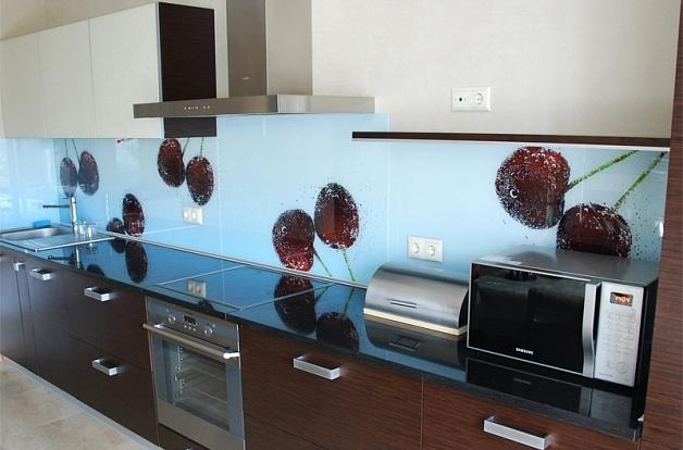 Кухонный фартук из МДФ: цена, монтаж, отзывы. Фартук для