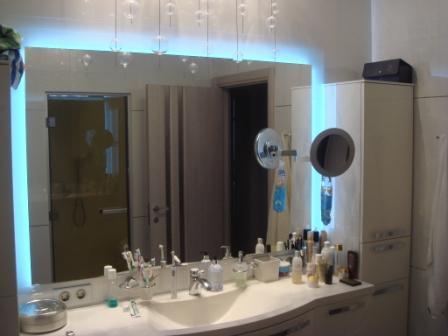 Подогрев зеркала в ванной своими руками