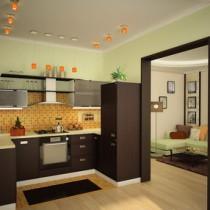 Решаем вопросы освещения на кухне