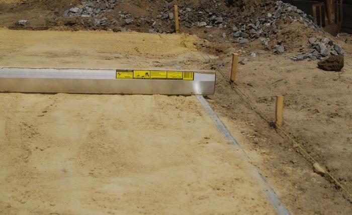 Проверка строительным уровнем