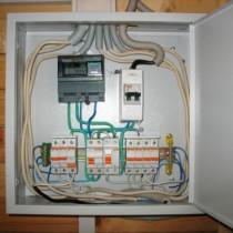 Правила и схемы монтажа электрощитка