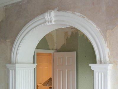 Фото как сделать арку в дверном фото 516