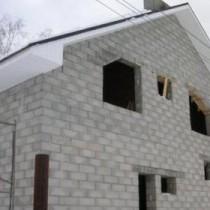 Легкая постройка дома из пеноблоков своими руками
