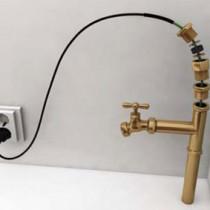 Зачем нужен греющий кабель внутри трубы?