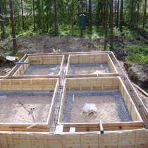 Выбор марки бетона для строительства фундамента дома
