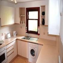 Как встроить стиральную машину в кухню?