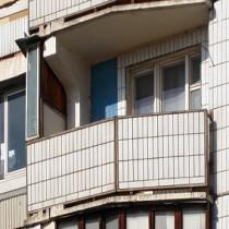 Остекление балконов в домах серии П-44