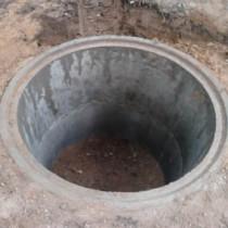 Простой септик из бетонных колец