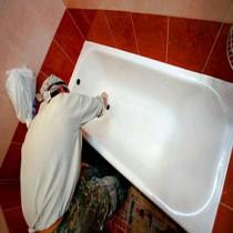 Как восстановить эмаль в чугунной ванне?