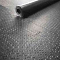 Рулонные резиновые напольные покрытия для гаража